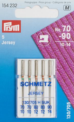Prym Naehmaschinennadeln 130/705 Jersey 70-90