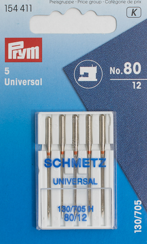 Prym Naehmaschinennadeln 130/705 Standard 80