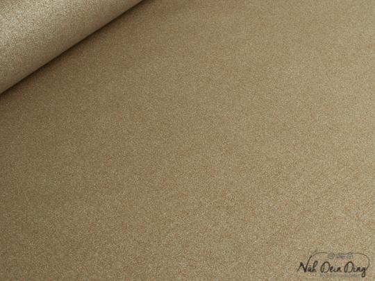 stoffe b nder baumwolle beschichtet glitzer kupfer online kaufen. Black Bedroom Furniture Sets. Home Design Ideas